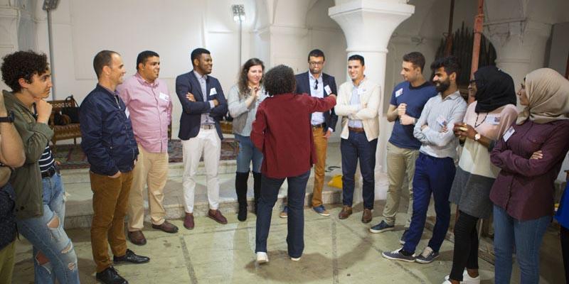 En photos : Rencontre de jeunes engagés dans les sociétés civiles méditerranéennes