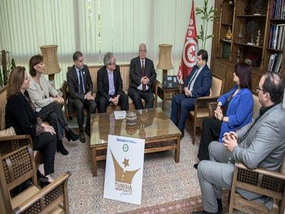 René Trabelsi reçoit le jury Tunisia Hospitality Award