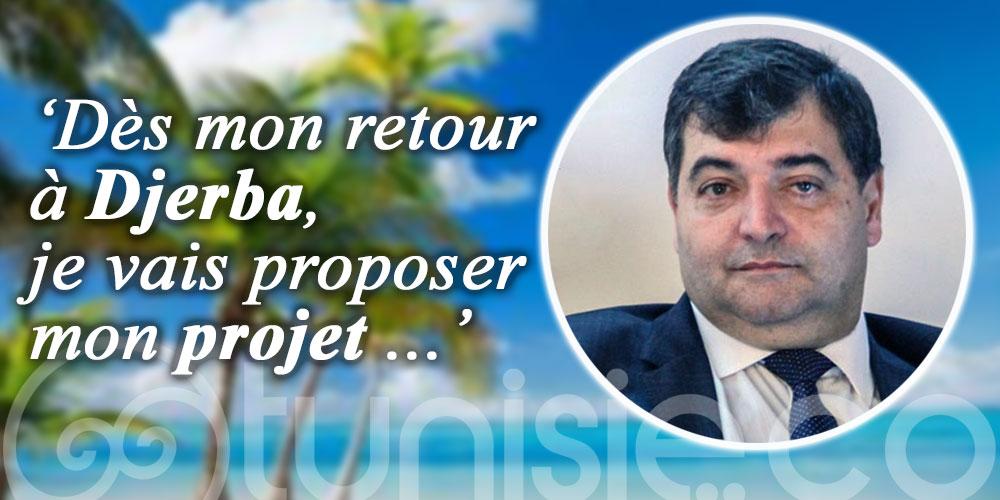 René Trabelsi : Dès mon retour à Djerba, je vais proposer mon projet ...