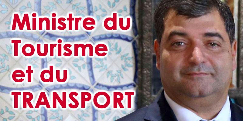 René Trabelsi ministre du Tourisme, de l'Artisanat et du Transport
