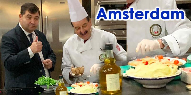 Le ministre du Tourisme promeut la Cuisine et la destination tunisienne aux Pays-Bas