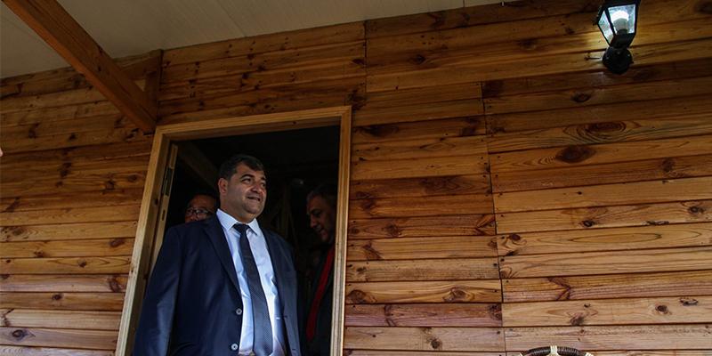 وزيرالسياحة والصناعات التقليدية يدشن إقامة ريفية بطبرقة