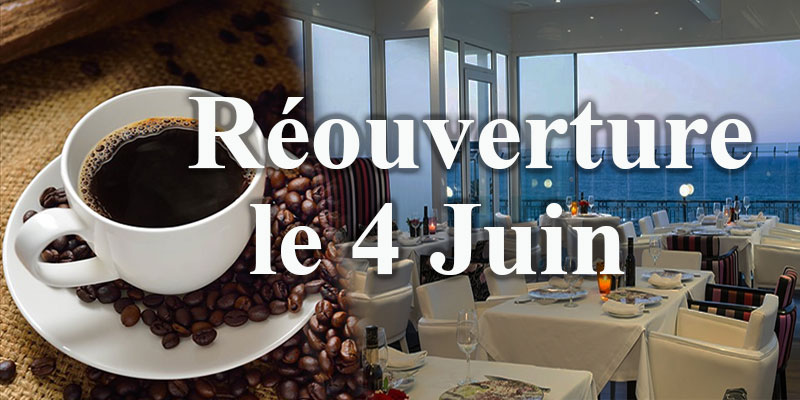 Les restaurants, les cafés et les salons de thé rouvriront leurs portes le 4 juin