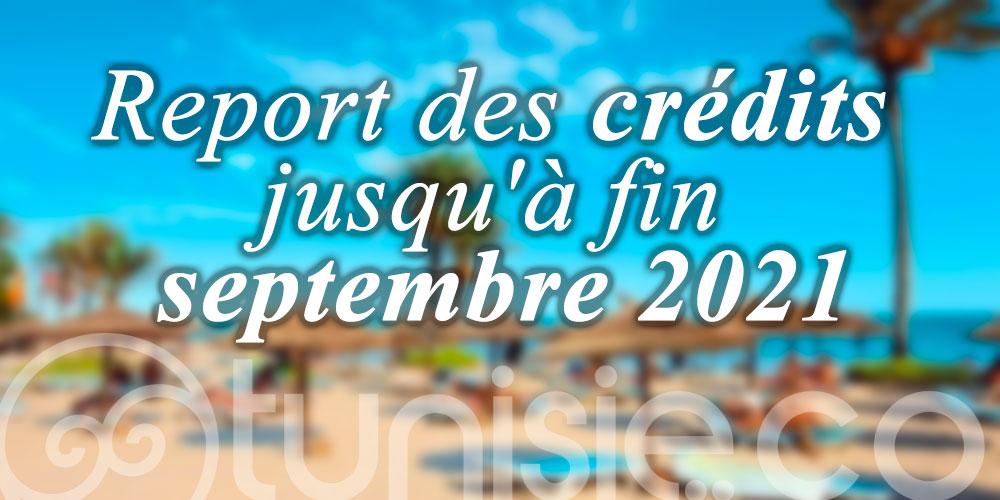 Report des crédits jusqu'à fin septembre 2021 pour le Tourisme et l'Artisanat