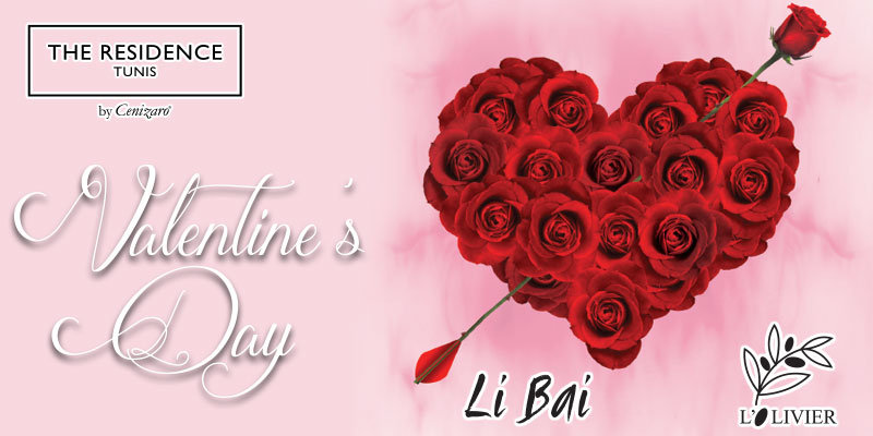 The Residence Tunis organise le meilleur des Saint-Valentin