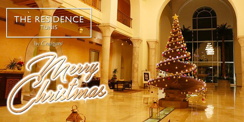 Le plus incroyable des Noël s'invite à The Residence Tunis