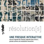 Vernissage de l´exposition Résolution[s] le 16 Septembre à l´IFT