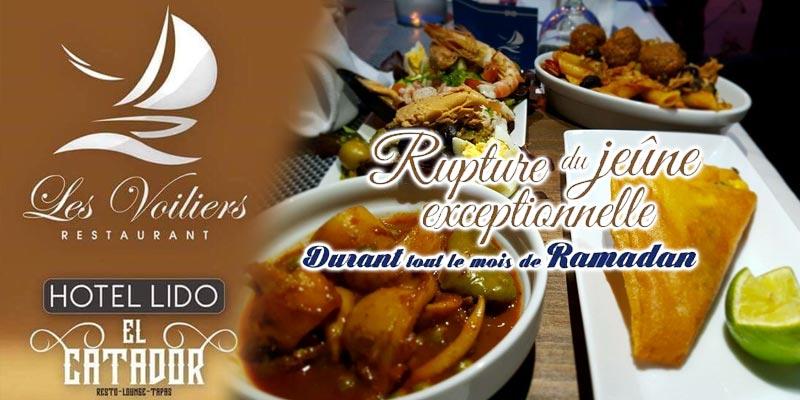 En vidéo: Restaurants Les Voiliers et El Catador font tables communes pour le mois de Ramadan