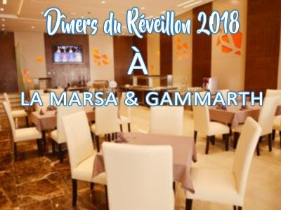 Les restaurants pour fêter le Réveillon 2018 à la Marsa et Gammarth