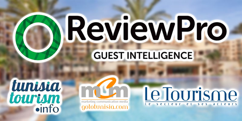 Review Pro signe un accord pour l'e-réputation des hôtels tunisiens