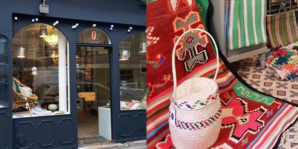Rivières, cette boutique parisienne qui valorise l'artisanat tunisien