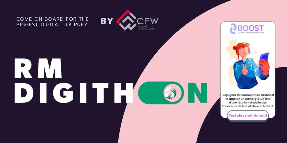 Rejoignez la communauté CCIboost et concourez pour un stand gratuit au RMDigithon