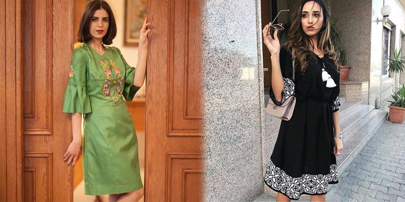 En photos : 7 robes courtes avec une touche artisanale, pour se démarquer ce printemps