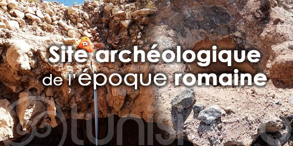 Découverte d'un important site archéologique de l'époque romaine au Kef