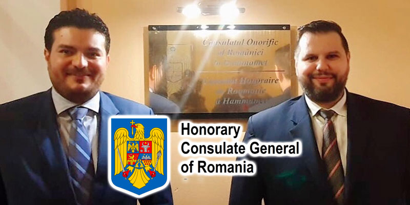 En photos : Inauguration d'un nouveau Consulat Honoraire de Roumanie à Hammamet
