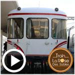 En vidéo : Découvrez le train touristique et écologique la ROSE des SABLES