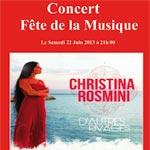 Dar Cherif à Djerba célèbre la Fête de la musique avec Christina Rosmini