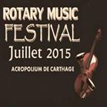Rotary Music Festival à l´Acropolium de Carthage du 1er au 5 juillet : Programme et tarifs