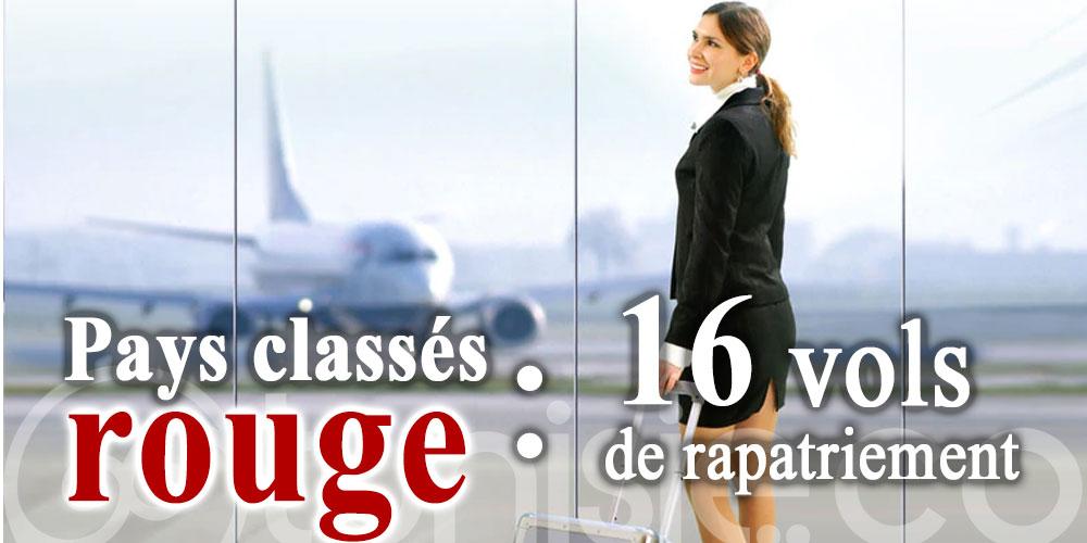 Le nouveau programme des 16 vols de rapatriement