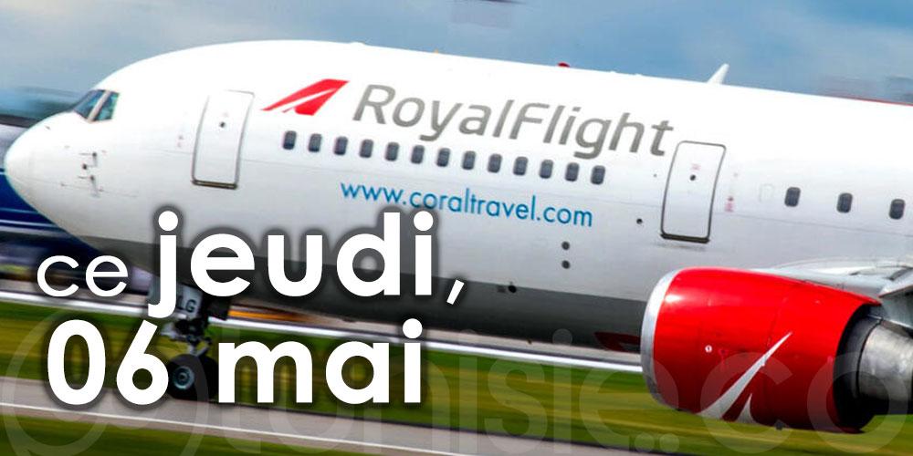 Royal Flight reprendra ses vols charters vers Enfidha-Hammamet