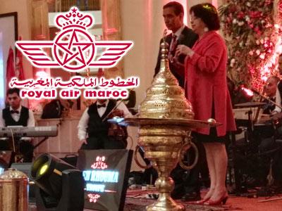 Revivez l'ambiance de la soirée IFTAR du ROYAL AIR MAROC au Carthage Thalasso Resort