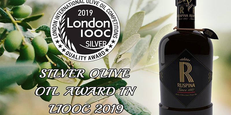 RUSPINA remporte la médaille d'argent au London International Olive Oil Compétitions 2019