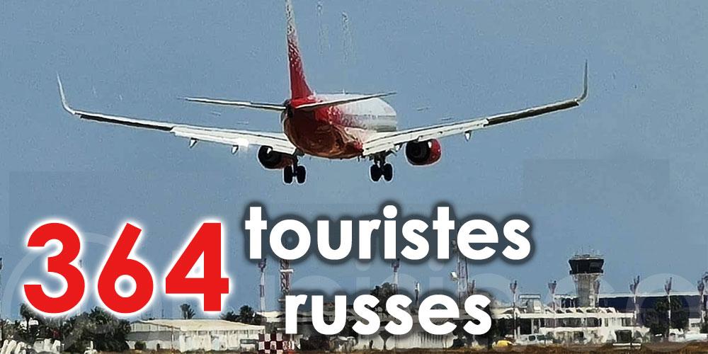 Arrivée de 364 touristes russes à Monastir et Enfidha