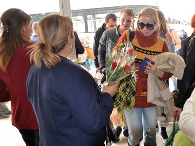 Démarrage de la nouvelle saison touristique avec le premier groupe de touristes russes à Hammamet