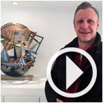 En vidéo : L´artiste belge Jan Demeulemeester parle de son exposition 'Assemblages´ à Sadika