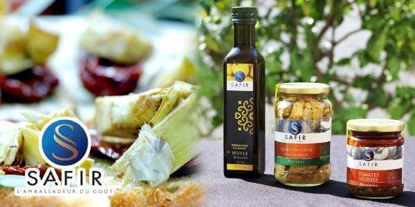 En vidéo : Huile d'olive, tomates séchées et coeurs d'artichauts SAFIR, testés pour vous