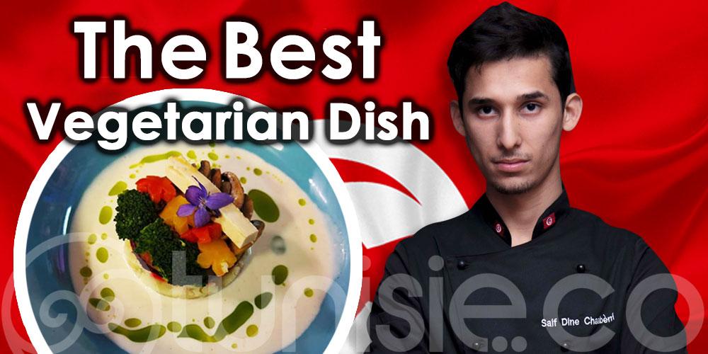 Young Chef Olympiad 2021: Saif Eddine Chaabeni remporte le prix du meilleur plat végétarien