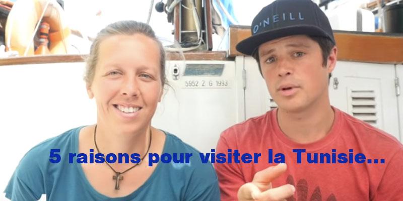 En vidéo: 5 raisons pour visiter la Tunisie selon Sailing Messenger