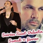 Les bons plans soirées pour la Saint-Valentin ce Samedi 11 février