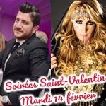 Les bons plans soirées Saint-Valentin pour ce mardi 14 février