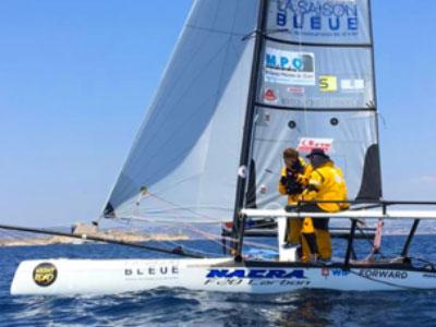 Yvan Bourgnon bat le record de la Méditerranée en arrivant à à Carthage