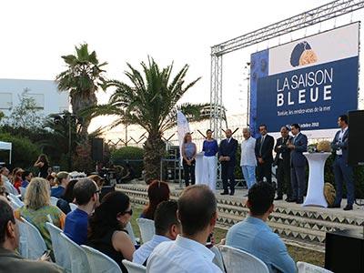 En vidéo : Lancement de la Saison Bleue avec ses rendez-vous de la mer du 15 juin au 15 octobre