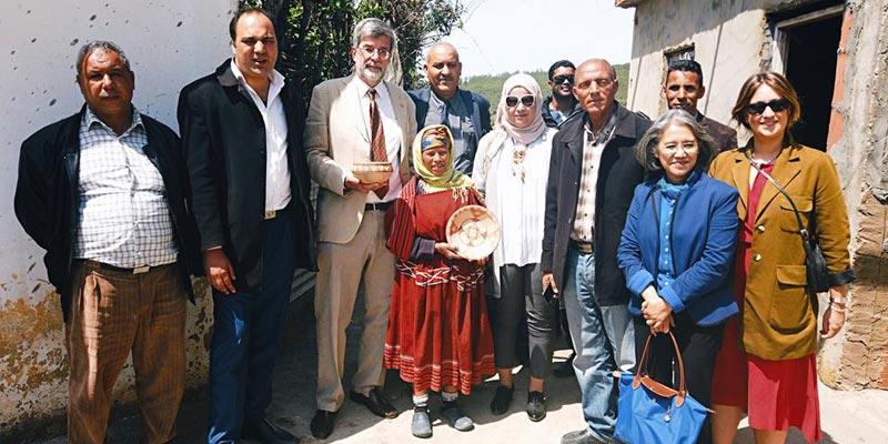 En photos : L'ambassade suisse soutient les potières de Sejnane