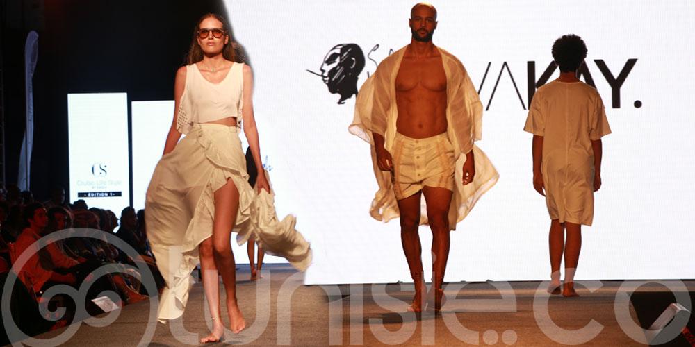 Découvrez les magnifiques créations de Salah Barka à la 1ère édition du défilé Cruise Life Style