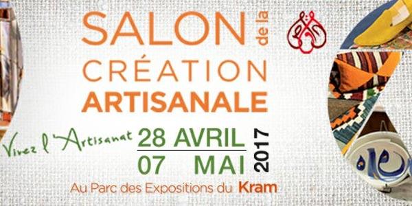 Le salon de la création artisanale du 28 avril au 7 mai au Parc des Expositions du Kram