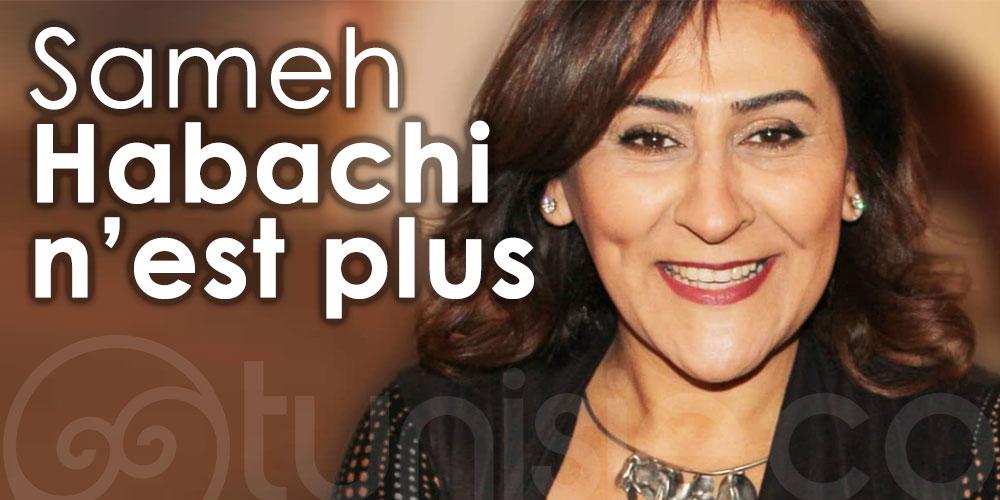 Samah Habachi femme de Culture n'est plus