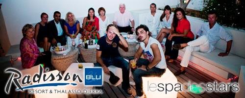 Le Spa des Stars du 4 au 7 octobre 2012 au Radisson Djerba