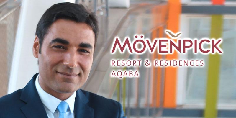Le Tunisien Sami Ounalli prend les rênes du Mövenpick Aqaba en Jordanie