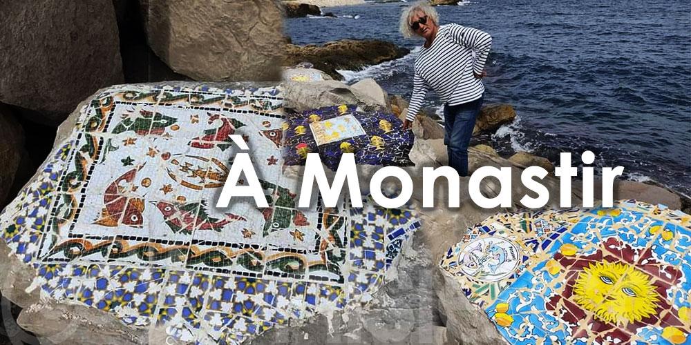 Découvrez ces magnifiques rochers en mosaïque signées 'Sami Noômen'