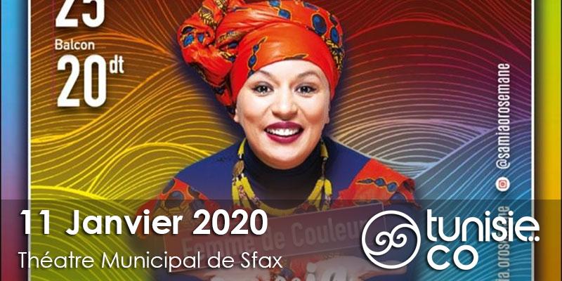 Sfax: Samia Orosemane le 11 Janvier 2020