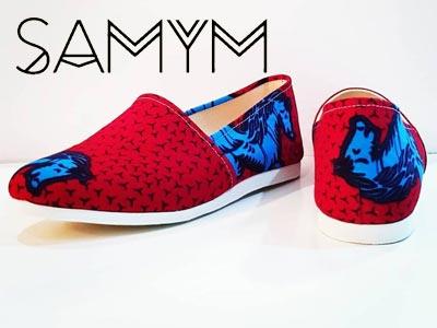 Découvrez ces espadrilles au style ethnique de la nouvelle collection VOYAGE de SAMYM
