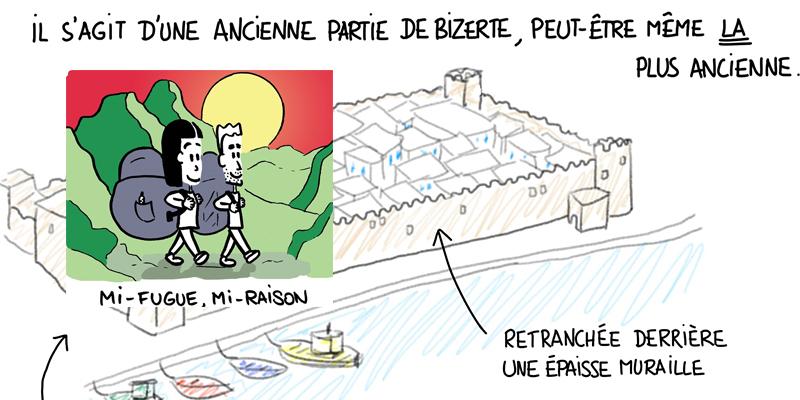 Découvrez la Tunisie en dessins rigolos avec Mi-fugue et Mi-raison