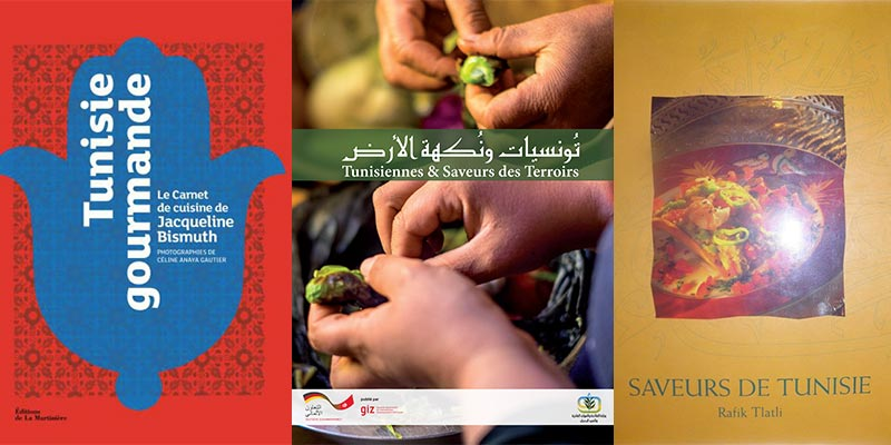 3 livres tunisiens participeront au Grand Prix de Littérature Culinaire de l'Académie Nationale de Cuisine