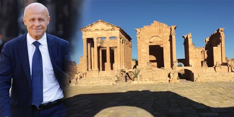 En vidéo : Quand l'ambassadeur de France fait la promotion du site archéologique de Sbeïtla