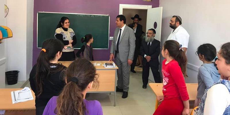 En photos : Inauguration d'une nouvelle école juive pour filles