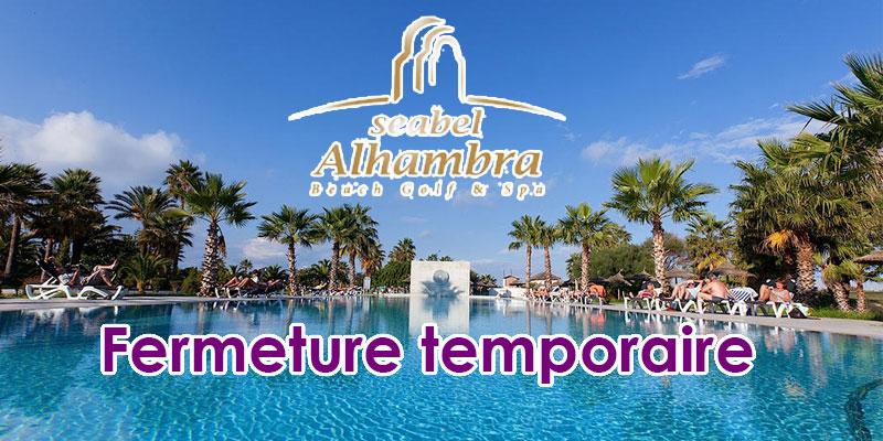 Fermeture temporaire du Seabel Alhambra Beach Golf & Spa